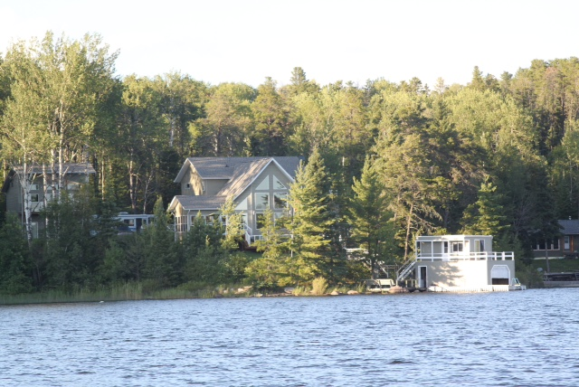 1s Stormbay Cottage veiw from Lake of the Woods